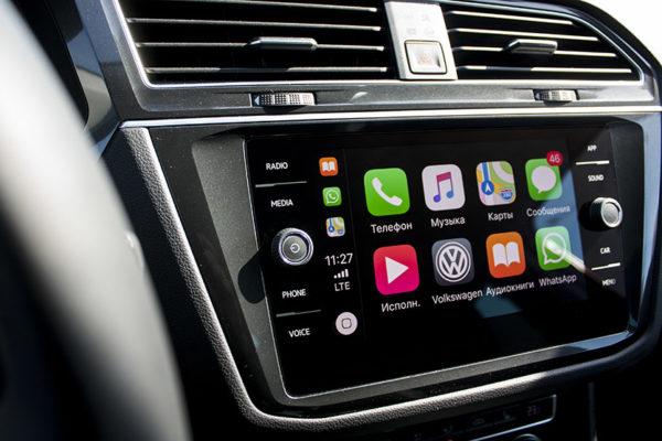 Программы, поддерживаемые CarPlay