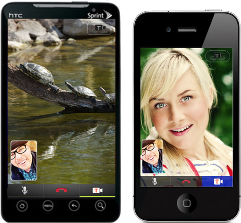 Видеозвонок через Tango Video Calls на iOS