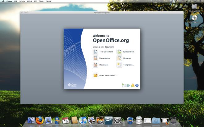 OpenOffice для MacOS