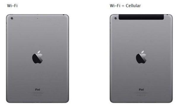 Отличия между iPad Wi-Fi с Cellular и без