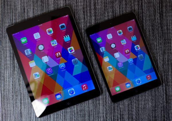 Экраны iPad Air и iPad mini 2