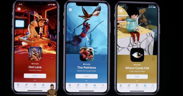 Примеры игр в Apple Arcade