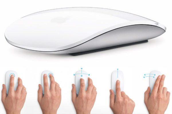 Принцип работы Apple Magic Mouse
