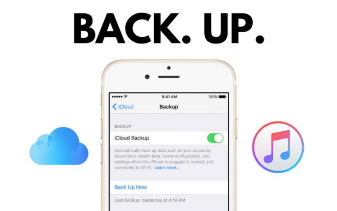 Инструкция по созданию резервной копии iPhone и iPad