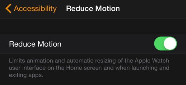 Увеличение размера иконок в iWatch через iPhone
