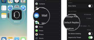 Улучшение читабельности текста интерфейса и увеличение иконок в iWatch