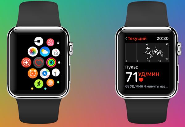 Включение опции «Повышенный пульс» на Apple Watch - шаг 3