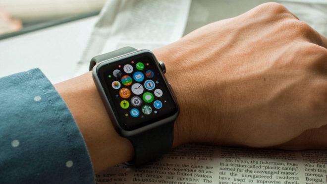 WatchOS 5 на Apple Watch Series 1