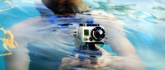 Экшн-камера для подводной съемки
