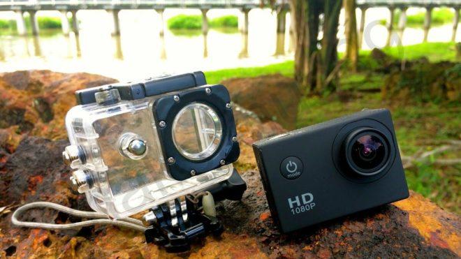 Screen Savers в экшн-камере