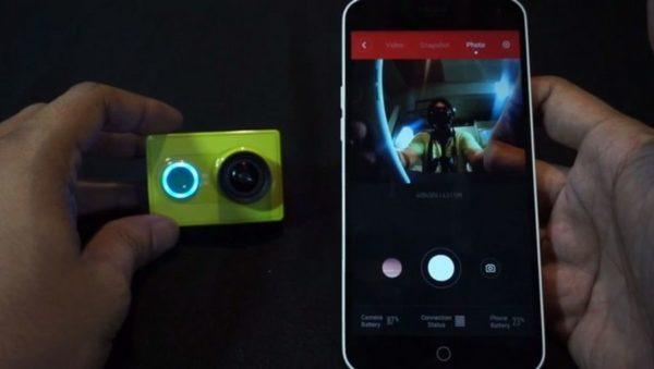 Экшн-камера с дистанционным управлением