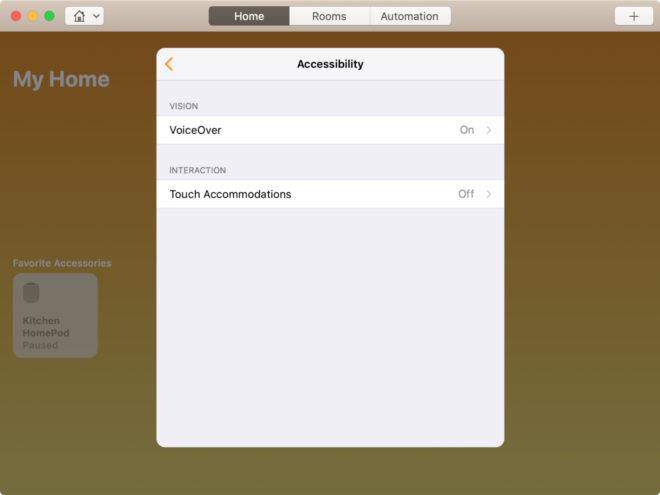 Отключение VoiceOver и голосового сопровождения на MacBook