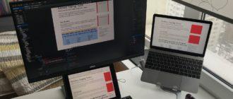 Подключение MacBook Pro к дополнительному монитору