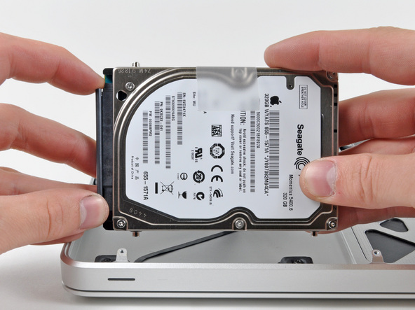 Замена жесткого диска на MacBook Pro - шаг 6
