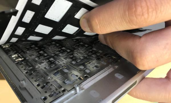 Замена клавиатуры на MacBook