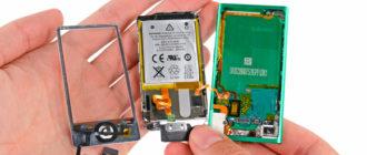 Разбор iPod Nano 7