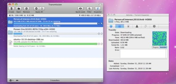 Торрент Transmission для MacOS
