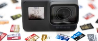 Выбор карты памяти для экшн-камеры