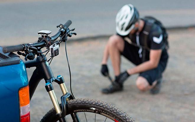 Экшн-камера для мотоцикла и велосипеда
