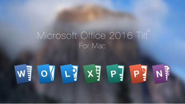 Состав пакета Microsoft Office для Mac