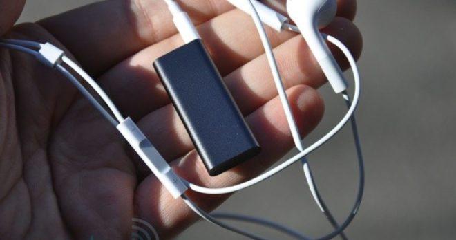 Наушники для iPod Shuffle
