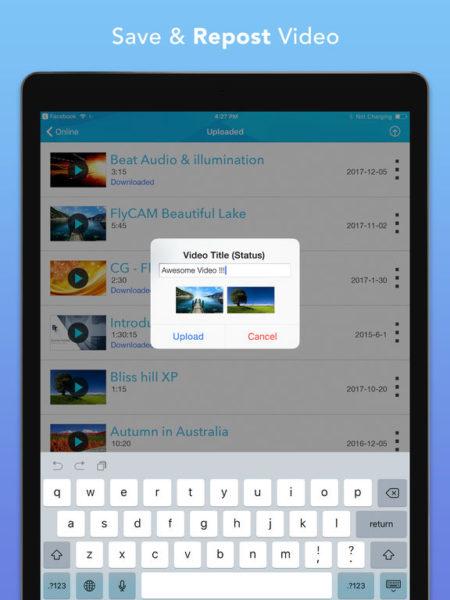 Video Saver Pro для iOS