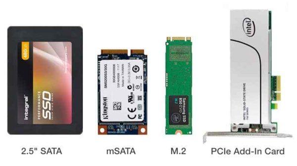 Форм-факторы SSD-дисков