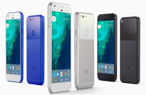 Расцветки Google Pixel