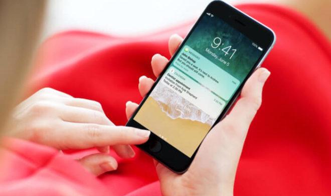 Уведомления и виджеты на экране блокировки iPhone