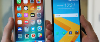Перенос контактов с iPhone на Android