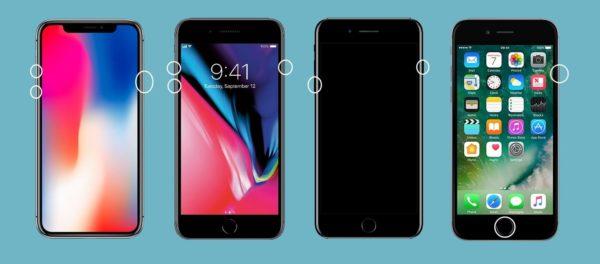 Способы перезагрузки iPhone