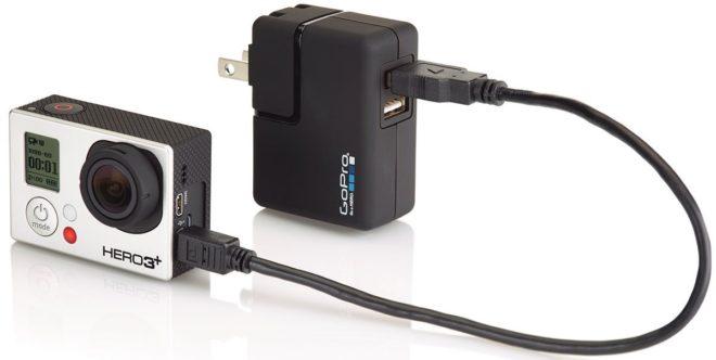 Зарядка экшн-камеры