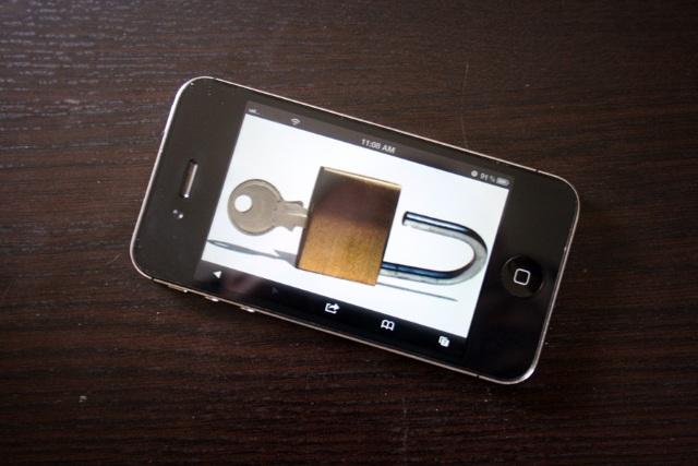 iPhone залочен на оператора