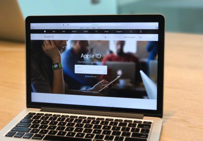 Смена Apple ID на MacBook