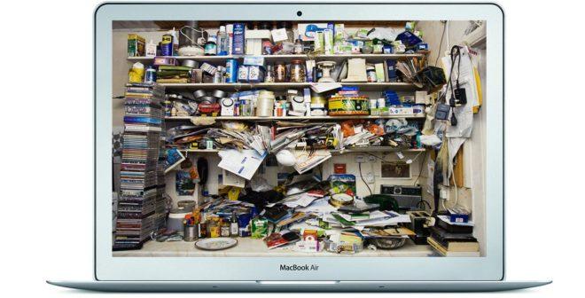 Очистка MacBook от ненужных файлов