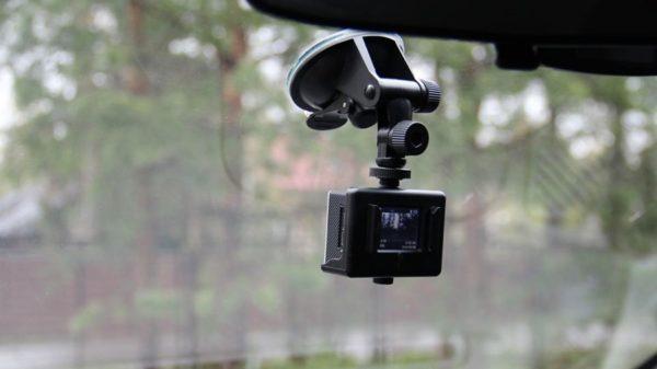 Экшн-камера в качестве видеорегистратора