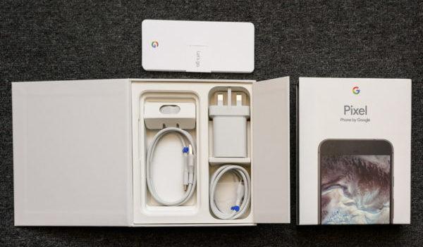 Комплектация Google Pixel