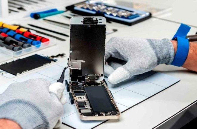 Где лучше ремонтировать технику Apple