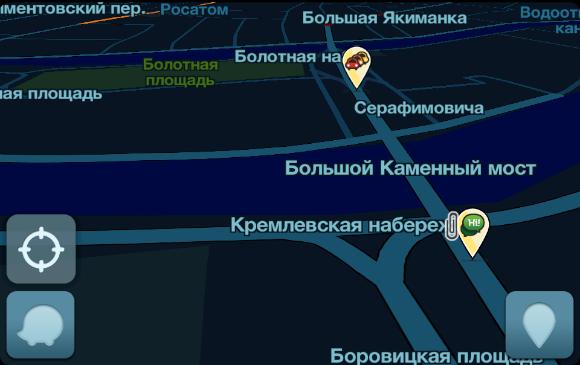 Навигация в Waze