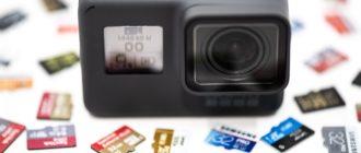 Причины, почему экшн-камера не распознает карту памяти
