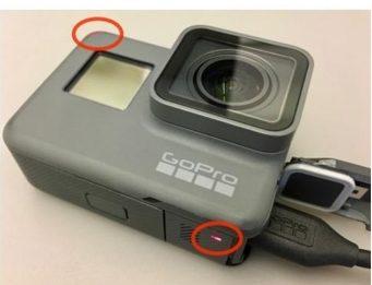 Светодиодные индикаторы зарядки в GoPro