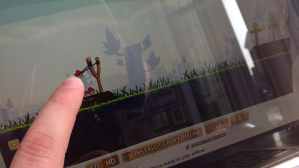 Экран Chromebook Pixel