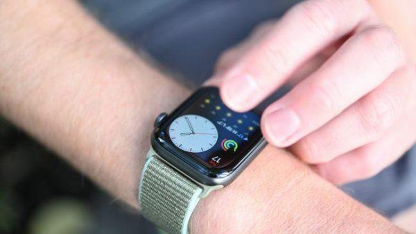 Экран Apple Watch 5