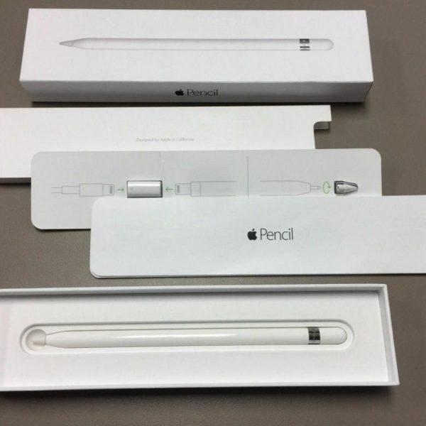 Комплектация Apple Pencil