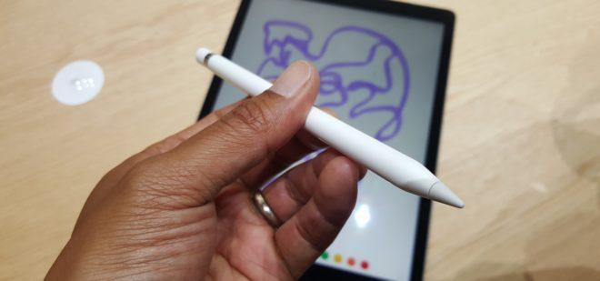 Проверка Apple Pencil на подлинность
