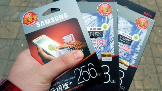 Проверка карт памяти Samsung на подлинность