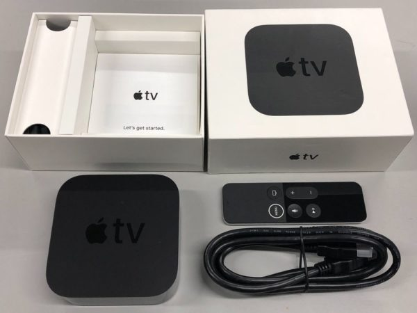 Упаковка и комплектация Apple TV