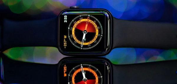 Встроенный компас в Apple Watch 5
