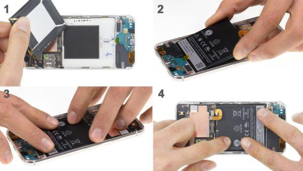 Замена аккумулятора в Google Pixel - шаг 6