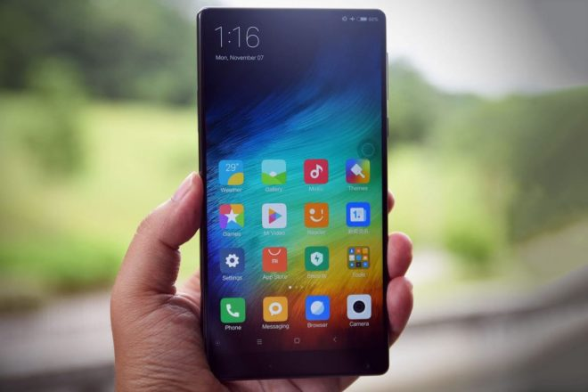 Снимок экрана в Xiaomi